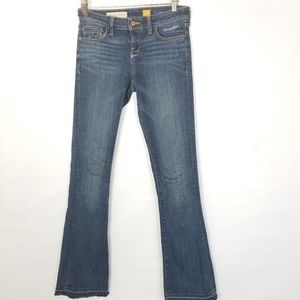 Pilcro and the letterpress stet raw hem jeans 26